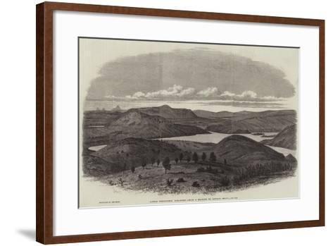 Little Windermere, Karagweh--Framed Art Print