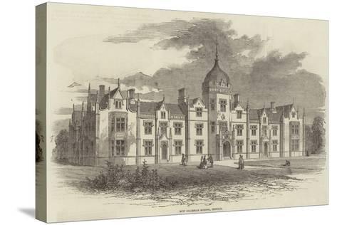 New Grammar School, Ipswich--Stretched Canvas Print