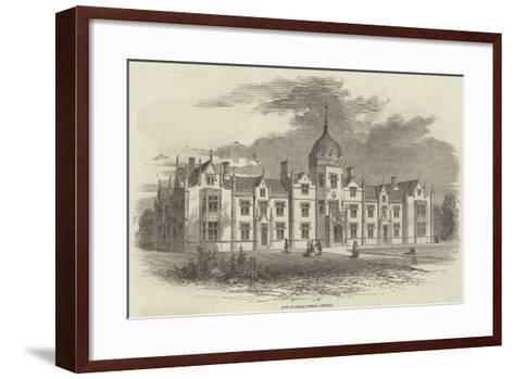 New Grammar School, Ipswich--Framed Art Print