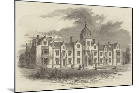 New Grammar School, Ipswich--Mounted Giclee Print