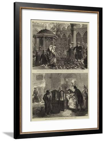 Sketches in Constantinople--Framed Art Print