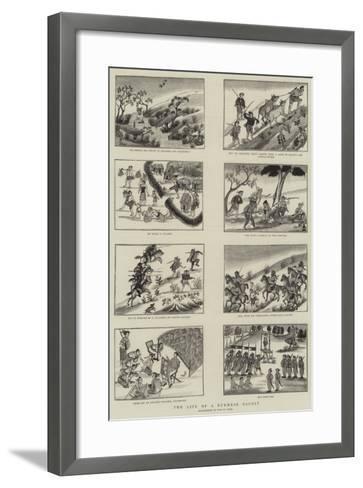 The Life of a Burmese Dacoit--Framed Art Print