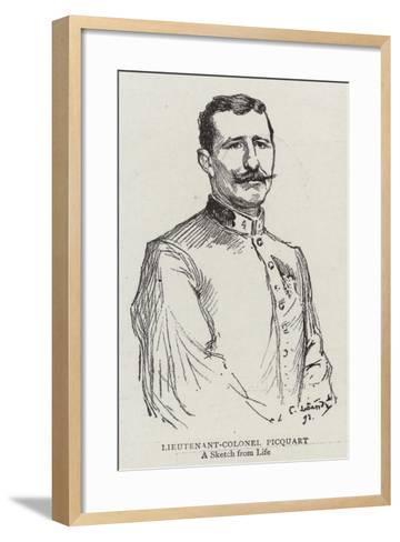 Lieutenant-Colonel Picquart--Framed Art Print