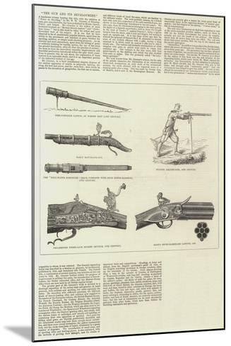 The Gun and its Development--Mounted Giclee Print
