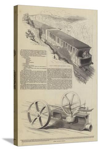 Nickels' Atmospheric Railway--Stretched Canvas Print