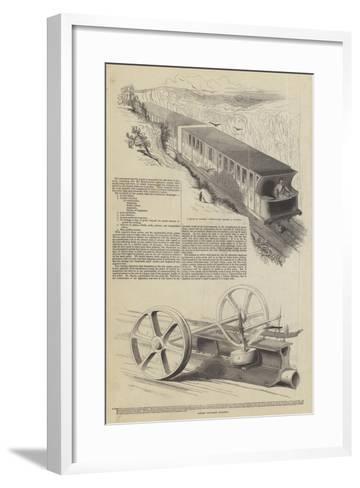 Nickels' Atmospheric Railway--Framed Art Print