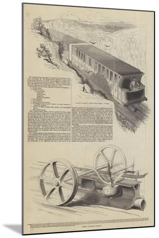 Nickels' Atmospheric Railway--Mounted Giclee Print