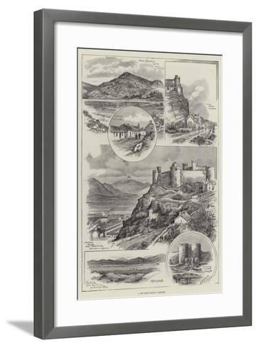 A New Golf Ground, Harlech--Framed Art Print