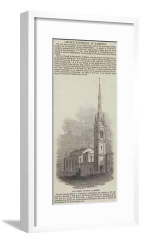 All Saints Church, Lambeth--Framed Art Print