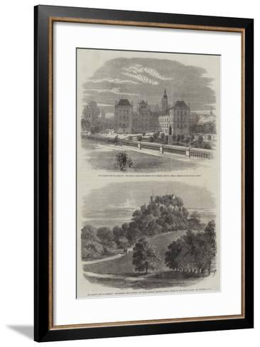 The Queen's Visit to Germany--Framed Art Print