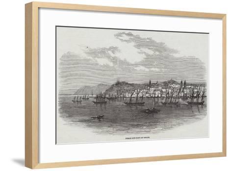 Russian Gun-Boats Off Galatz--Framed Art Print
