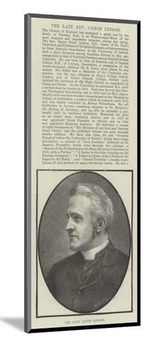 The Late Canon Liddon--Mounted Giclee Print