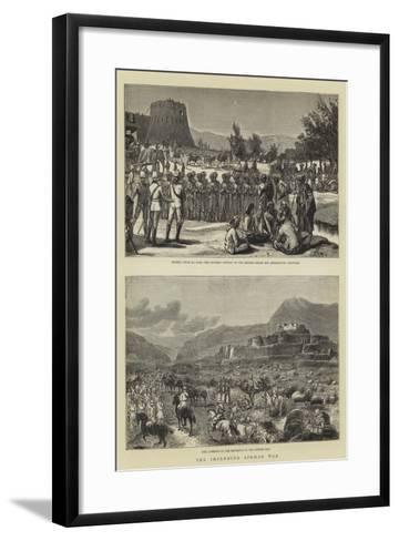 The Impending Afghan War--Framed Art Print