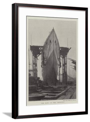 The Bows of the Oceanic--Framed Art Print