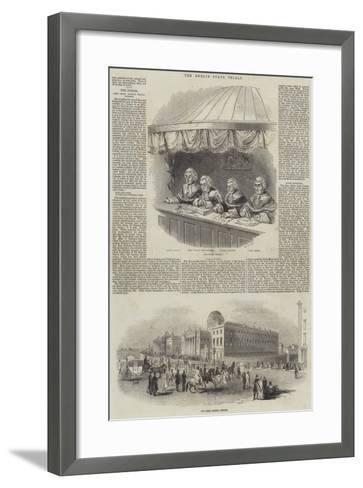 The Dublin State Trials--Framed Art Print