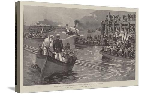 The Spanish-American War--Stretched Canvas Print