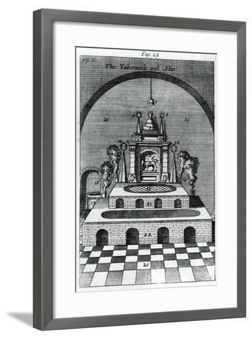 The Tabernacle and Altar--Framed Art Print