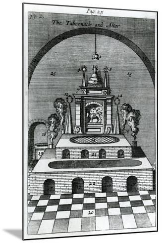 The Tabernacle and Altar--Mounted Giclee Print