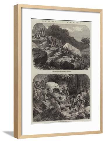 Travelling in Madagascar--Framed Art Print