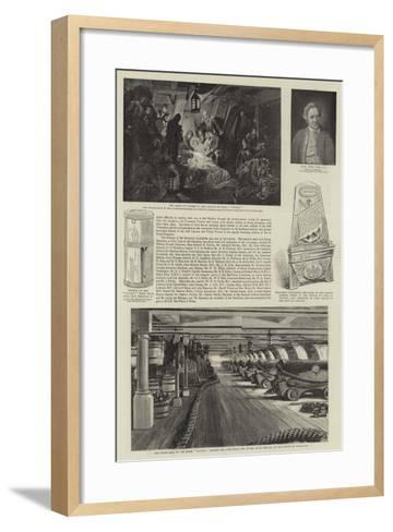 Royal Naval Exhibition--Framed Art Print