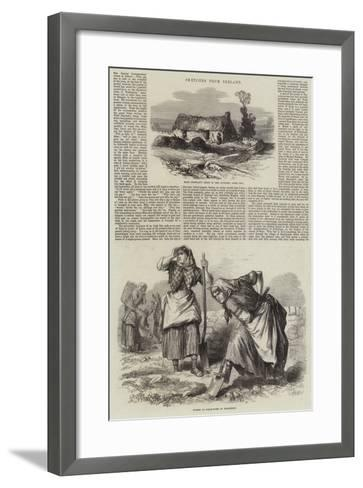 Sketches from Ireland--Framed Art Print
