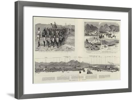 The Campaign at Suakin--Framed Art Print