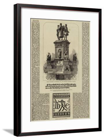 The Caxton Celebration--Framed Art Print