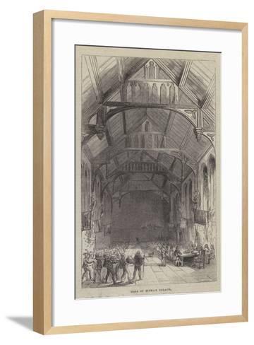 Hall of Eltham Palace--Framed Art Print