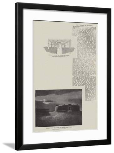The Towers of Silence--Framed Art Print