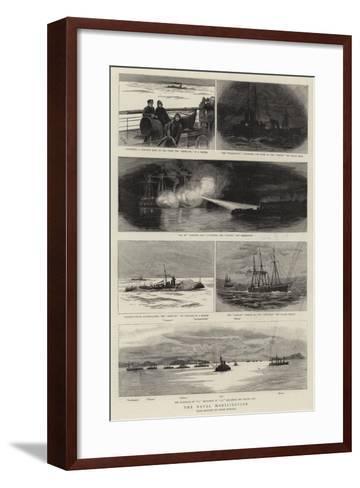The Naval Mobilisation--Framed Art Print