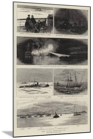 The Naval Mobilisation--Mounted Giclee Print