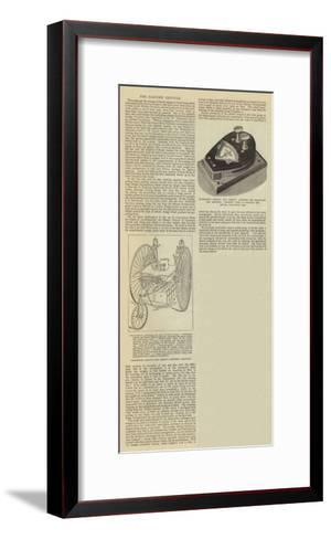The Electric Tricycle--Framed Art Print