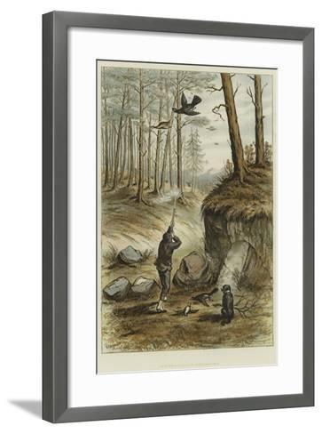 Capercailzie-Shooting--Framed Art Print