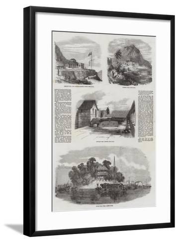 Sketches in Hong Kong--Framed Art Print