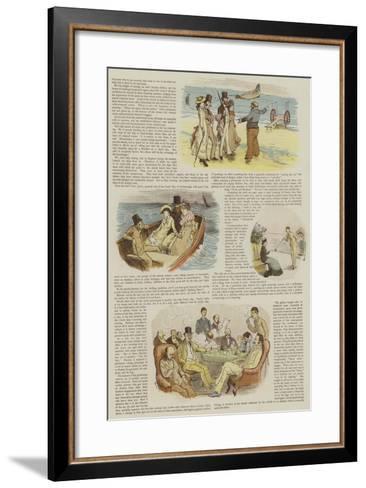 Mr Chumley's Holidays--Framed Art Print