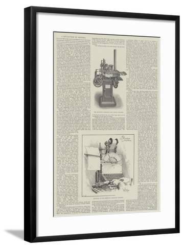 A Revolution in Printing--Framed Art Print
