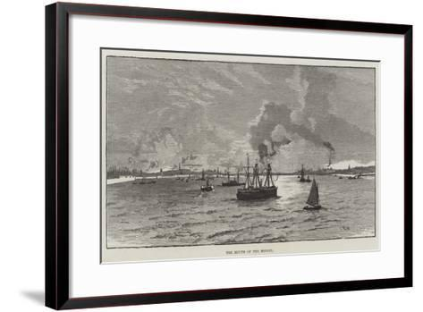 The Mouth of the Mersey--Framed Art Print