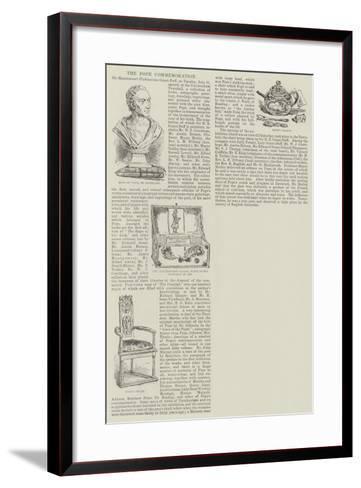 The Pope Commemoration--Framed Art Print