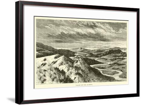 Valley of the Alpheus--Framed Art Print