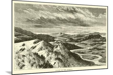 Valley of the Alpheus--Mounted Giclee Print