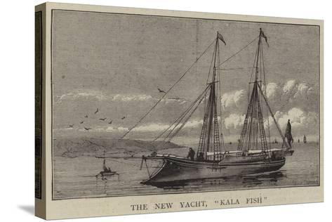 The New Yacht, Kala Fish--Stretched Canvas Print