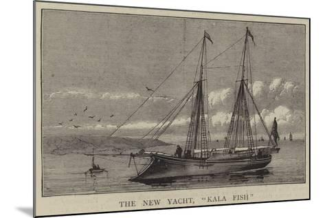 The New Yacht, Kala Fish--Mounted Giclee Print