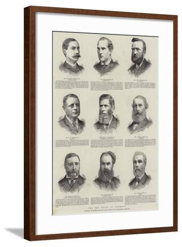 The New House of Commons--Framed Art Print