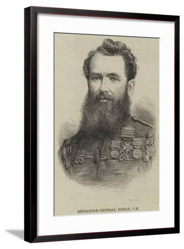 Brigadier-General Doran--Framed Art Print