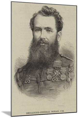 Brigadier-General Doran--Mounted Giclee Print
