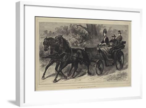 The Royal Convalescent--Framed Art Print