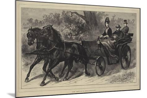 The Royal Convalescent--Mounted Giclee Print