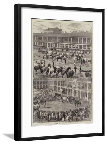 Cattle Show at Halifax--Framed Art Print