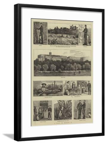 A Visit to Mexico, II--Framed Art Print