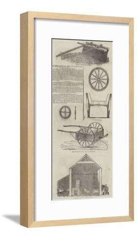 Agricultural Machinery--Framed Art Print